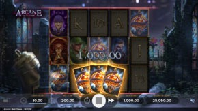 Arcane Reel Chaos Free Spins Bonus Granted