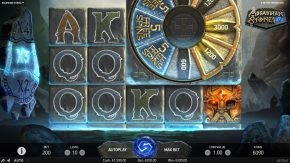 Asgardian Stones Slot Bonus Wheel Feature
