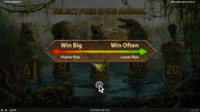 Jungle Spirit Call of the Wild Slot Risk Level