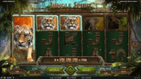 Jungle Spirit Call of the Wild Slot Expansion Reel