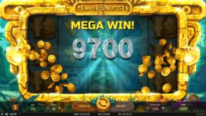 Temple of Nudges Slot Big Win