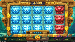 Temple of Nudges Slot Stacked Symbols