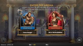 Game of Gladiators Free Spins