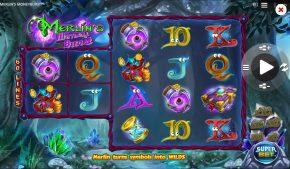Merlin's Moneyburst Slot Gameplay