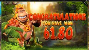 Return of Kong Megaways Big Win