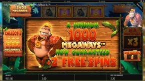 Return of Kong Megaways Bonus Free Spins
