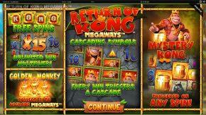 Return of Kong Megaways Demo Rules