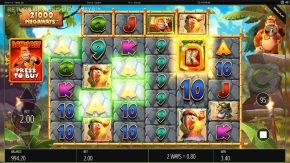 Return of Kong Megaways Demo Gameplay