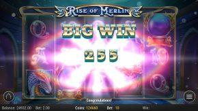 Rise of Merlin Slot Big Win