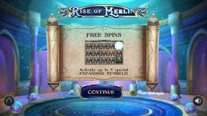 Rise of Merlin Slot Rules