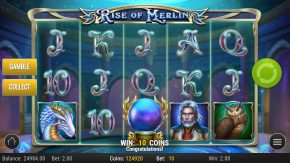 Rise of Merlin Slot Scatters