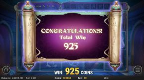 Rise of Merlin Slot Total Win