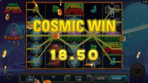 Space Spins Slot Cosmic Win