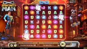 Spinfinity Man Slot Free Spins