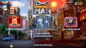 Spinfinity Man Slot Game Rules