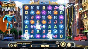Spinfinity Man Slot High Value Symbols