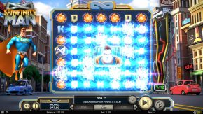 Spinfinity Man Slot Icy Blast