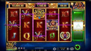 King Ramses Triple Shot Bonus Symbol