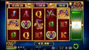 King Ramses Triple Shot Slot Scatter