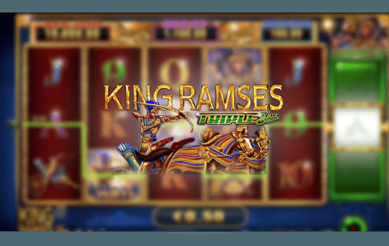 King Ramses Triple Shot Video Slot Review