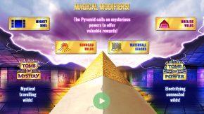Pyramidion Slot Features