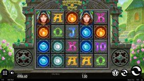 Raven's Eye Video Slot Gameplay