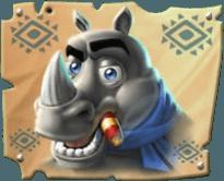Return of Kong Megaways Rhino Symbol