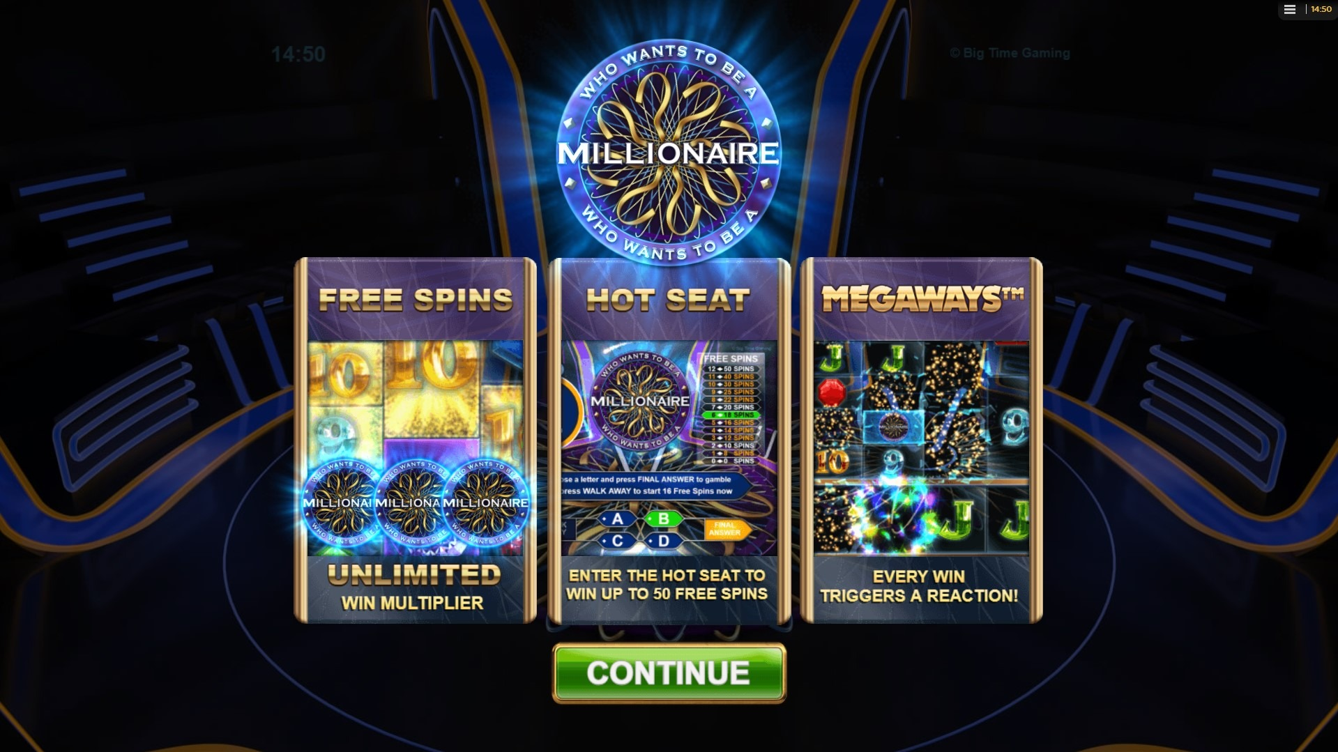 Spiele Who Wants To Be A Millionaire Megaways - Video Slots Online