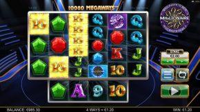 Who Wants to be a Millionaire Megaways Similar Symbols