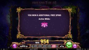 Firefly Frenzy Active Wilds Won