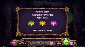 Firefly Frenzy Frenzy Spins Won