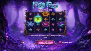 Firefly Frenzy Main Frenzy Spins