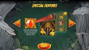 Jackpot Quest Slot Special Features