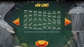 Jackpot Quest Slot Win LInes