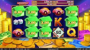 Monopoly Grand Hotel Slot House Symbols