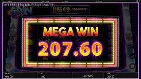 Mystery Spin Deluxe Megaways Slot Mega Win
