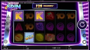 Mystery Spin Deluxe Megaways Slot Wild Symbol