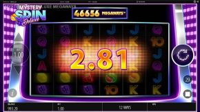 Mystery Spin Deluxe Megaways Slot Win