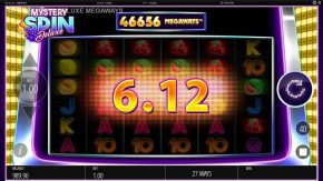 Mystery Spin Deluxe Megaways Slot Wins