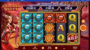 Queen Diamond Spinswild game