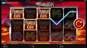 Thundercats Reels of Thundera Free Play Bonus Symbols