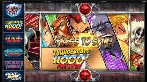 Thundercats Reels of Thundera Free Play Free Spins