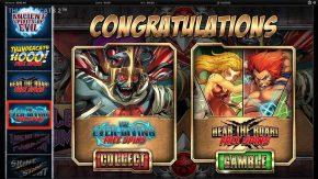 Thundercats Reels of Thundera Free Play Collect or Gamble