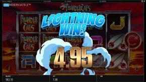 Thundercats Reels of Thundera Free Play Lightning Win