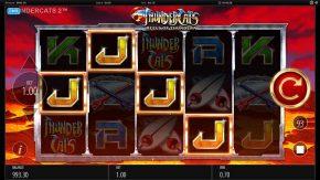 Thundercats Reels of Thundera Free Play Similar Symbols