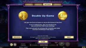 Wolf Moon Rising Rules Double Up Game