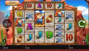 Diamond Mine Megaways Gameplay
