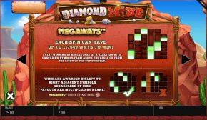 Diamond Mine Megaways Paylines