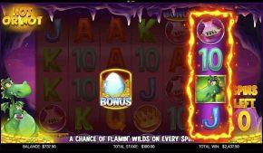 Flamin Elle Slot Hot or Not Bonus Gameplay