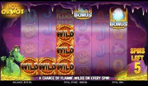 Flamin Elle Slot Hot or Not Bonus Wilds